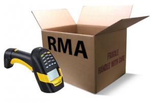 Return Material Authorisation - RMA