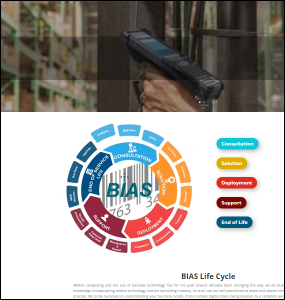 BIAS Website Front Page