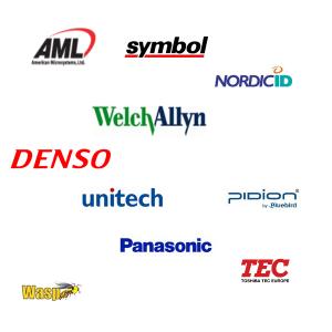 Legacy Manufacturers, 1, AML, symbol, Nordic Id, Welch Alltn, Denso, Unitech, pidion, panasonic, wasp, TEC