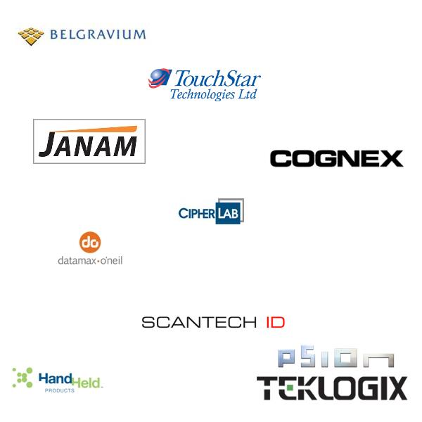 Legacy Manufacturers, 2, belgravium, touchstar, janam, cognex, cipherlab, datamax-oneil, scantech id, hand held products, psion, teklogix