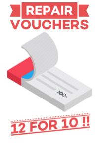 Repair Vouchers 12 for the price of 10