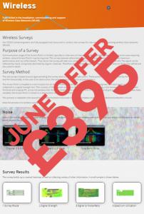 Wireless Survey Offer £395