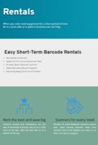 Barcode Rentals